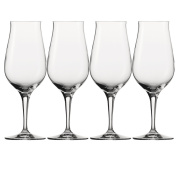Spiegelau 4460177 14.9 x 14.9 x 20.2 cm Whisky Snifter Premium Glass, Set of 4, Transparent