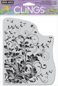 Hero Arts Cling Stamps 15cm x 11cm , Leafy Vines