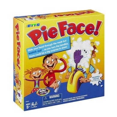 Pie Face Family Fun Game