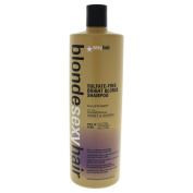 SEXY HAIR sulphate-FREE BRIGHT BLONDE SHAMPOO AND CONDITIONER 1000ml