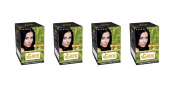 Vcare Herbal Hair Dye - A Complete Herbal Products - Unique & Safe For Your Hair - 60g Pack of 4