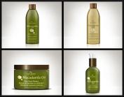 Hair Chemist Macadamia Oil Deluxe Hair Care Collection - 4 Piece Set