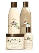 Hair Chemist Coconut Oil Deluxe Hair Care Collection - 4 Piece Set