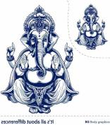 Bg Temporary Tattoo Inspire Series-indian God