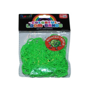 ASAH Scented Loom Bands 300pce with 16 S Clips - Apple