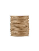 FreshHear Pack of 1 for 80m Waxed Cotton Cord Colour Khaki Size 1.5x1.5mm