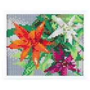 MotoHiroshi skill mini gallery (beadwork kit) Heart full collection of summer flower MG208