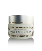 Daily Face Cream - Best Moisturiser To Help Reduce Lines And Wrinkles For Radiant Skin - Slow The Process Of Ageing - For All Skin Types - Made With All Natural Ingredients - No Synthetic Chemicals