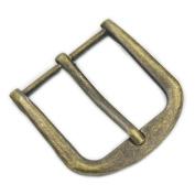"Fujiyuan 5 pcs 1.5"" 38mm Leather Purpose Strap Buckle Belt handbag purse bag Ring Bronze"