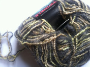 Dark Horse Yarns Twinkle #2 Olive Grove Mohair Metallic Blend Yarn 50 Gramme
