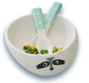 My Natural Eco Tableware Gift Set, Light Blue