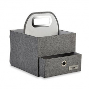 JJ Cole® Nappy and Wipes Caddy in Slate