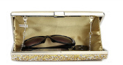 Covelin Women's Handbag Envelope Rhinestone Evening Clutch Bag Hot