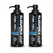 Elegance Plus Shaving Gel 500ml (2 Pack)