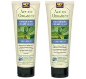 Avalon Organics Peppermint Moisturising Cream Shave 240ml