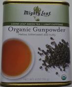 Mighty Leaf Tea - Loose Leaf Green Tea - Organic Gunpowder - Light Caffeine