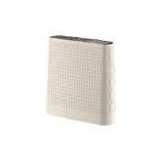 Bodum Bistro Knife Block - Empty - Off White