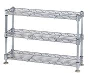 Economy rack Luminous parts compatible product Paul diameter 12.7mm mini rack three-stage width 45.5 ~ depth 12.5 ~ height 31.5cm WA4530-3