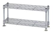 Economy rack Luminous parts compatible product Paul diameter 12.7mm mini rack two-stage width 45.5 ~ depth 12.5 ~ height 21cm WA4520-2