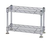 Economy rack Luminous parts compatible product Paul diameter 12.7mm mini rack two-stage width 30.5 ~ depth 12.5 ~ height 21cm WA3020-2