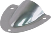 Amarine-made Stainless Steel Clamshell Vent / Wire Cover Clam Shell Vent for Boat - 07725S