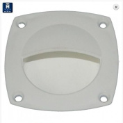 Waterproof Flush Lid Lift / Hatch Pull - TH Marine LL-2-DP - 7cm Square Top - White