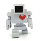 Paper craft Lovebot Toy Robot designed by Matthew Del Degan