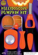 Halloween Pumpkin Kaleidoscope Jack O Lantern Poking Carving Tool Kit w/ Light