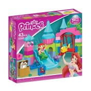 Mermaid Under Sea Princess Park Building block 43 pieces Duplo compatible toy set for preschool girl kids playset