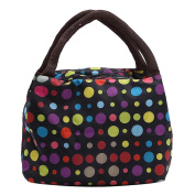 ZXKE Colourful Grids Women Handbags Carrier Lunch Bag Tote