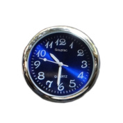 Gouptec High Quality Mechanics Combination Quartz Clock/Humidity/Thermometer Metre Steel Core Pointer Digital Fit For Car Autos Time