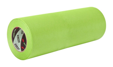 TapeCase 401+ 15cm x 60yd High Performance Masking Tape-Converted from 3M 401+/233+, 15cm x 60 Yards Roll, Crepe Paper, Green