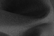 100 Yard Roll of 150cm Wide Crystal Organza Sheer Fabric - Black