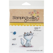 Stamping Bella Smarty Cat Cling Rubber Stamp, 17cm x 11cm