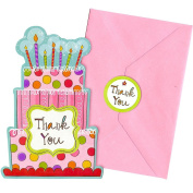 Sweet Stuff Thank You Notes - Party Supplies