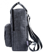 [HotStyle Basic Classic] Bestie Cute Nappy Bag Backpack for Mom (18 Litres), Grey