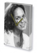 CATHERINE BACH - Canvas Clock (A5 - Signed by the Artist) #js002