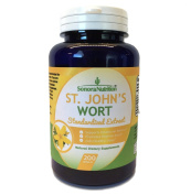 Sonora Nutrition St. John's Wort Standardised Extract with 0.3% Hypericin 300 mg, 200 Capsules