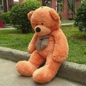 VERCART 63 inches Brown 160CM Giant Huge Cuddly Stuffed Animals Plush Teddy Bear Toy Doll