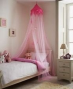 Princess Style Pink Canopy Bedroom Hanging Bed
