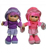 35cm Girls Soft Cuddly Toy Rag Doll with Hat