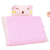 Kungfu Mall Baby Infant Positioner Anti Roll Sleep Washable Pillow Newborn Prevent Flat Head