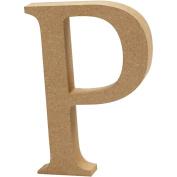 Letter, H: 8 cm, MDF, P, 1pc