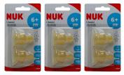 Multibuy 3x NUK® Classic Standard Latex Teat Large Hole (Size 2) 6mths+
