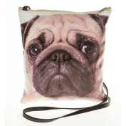 Pug Dog Face Crossbody/Shoulder Bag