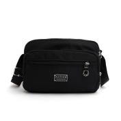 AOTIAN Zipped Closure Cross Body Bag Shoulder Bag For Hiking Messenger Bags For Women Casual Day Bag