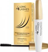 Long 4 Lashes Eyelash Growth Enhancing Black Mascara with Biotin 10ml