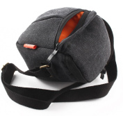 JUNIPA Camera case bag Canvas for Sony A5000 A5100 A6000 NEX-5T 5R NEX-7 NEX-6