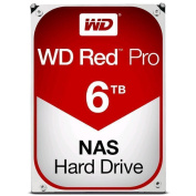 "WD 6TB Red Pro NAS HDD , 3.5"" SATA3 128M Cache, Designed and tested for RAID environments 8-16 Bay"