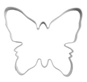 Cookie Cutter, Butterfly, Large, 10 CM Tin Plate
